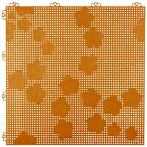 7391520023970_6400-1800-68_Daisy Floortile_PearlGold_2