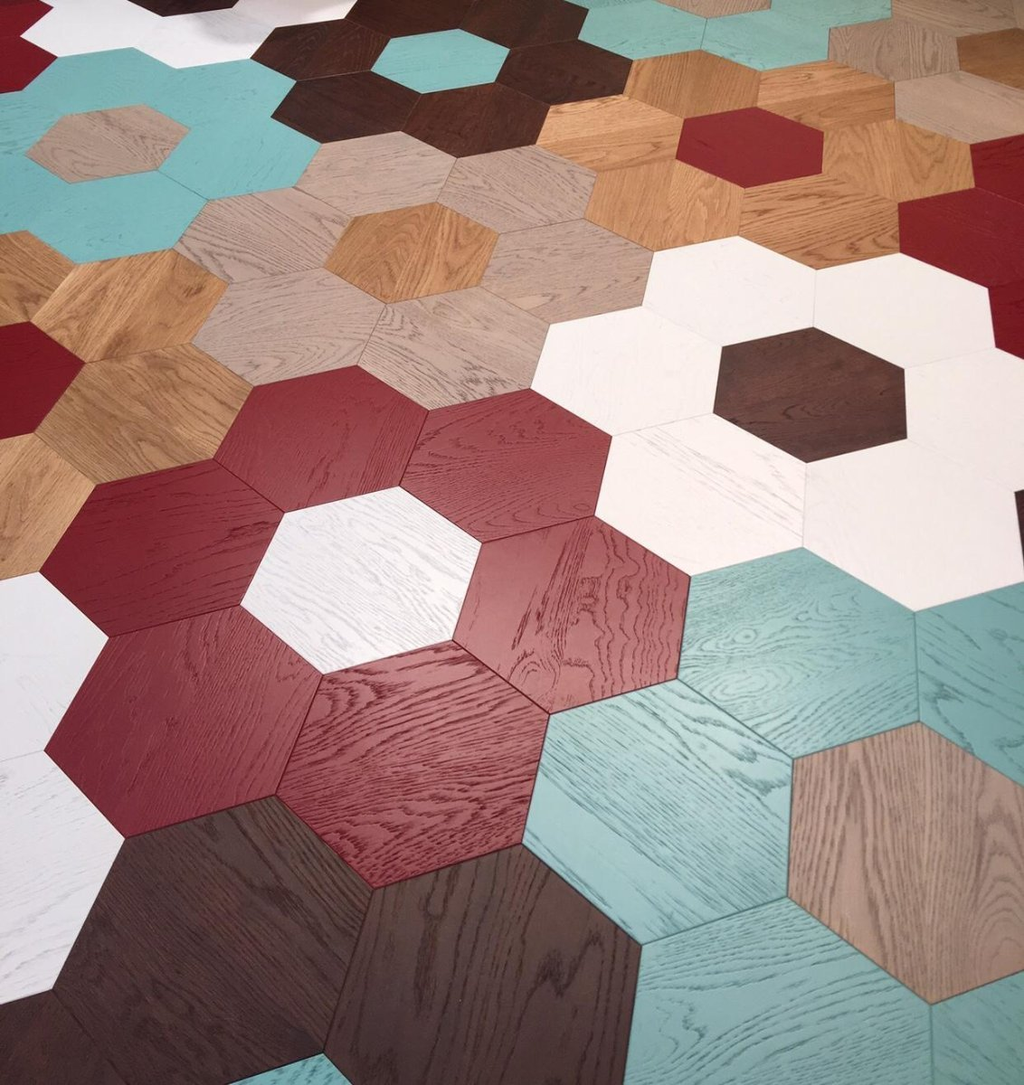 Coming Soon Colored Parquet in McKays Collection